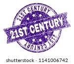 21st century stamp seal imprint ... | Shutterstock .eps vector #1141006742