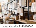 old design furniture offered...   Shutterstock . vector #1141014368