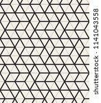 vector seamless pattern. modern ...   Shutterstock .eps vector #1141043558
