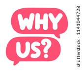 why us  vector hand drawn...   Shutterstock .eps vector #1141044728