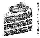 Chocolate Cake Slice...