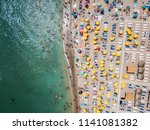 costinesti  romania   july 15 ... | Shutterstock . vector #1141081382