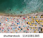 costinesti  romania   july 15 ... | Shutterstock . vector #1141081385