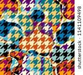 seamless geometric pattern.... | Shutterstock .eps vector #1141109498