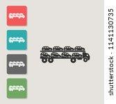 automobile transporter   vector ...