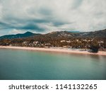 aerial view of beautiful... | Shutterstock . vector #1141132265