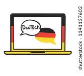 german. vector illustration... | Shutterstock .eps vector #1141137602