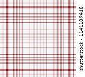 tartan traditional checkered... | Shutterstock .eps vector #1141189418