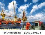 technician or worker on the...   Shutterstock . vector #1141259675