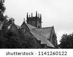 a church found alongside... | Shutterstock . vector #1141260122