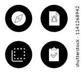 ui ux glyph icons set. explore...