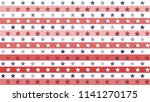 stars and stripes abstract... | Shutterstock .eps vector #1141270175