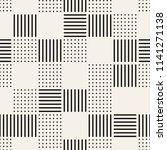 vector seamless pattern. modern ... | Shutterstock .eps vector #1141271138