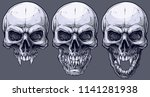 detailed graphic realistic cool ... | Shutterstock .eps vector #1141281938