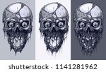 detailed graphic realistic cool ... | Shutterstock .eps vector #1141281962