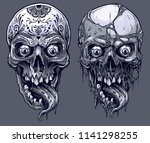 detailed graphic realistic cool ... | Shutterstock .eps vector #1141298255