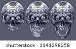 detailed graphic realistic cool ... | Shutterstock .eps vector #1141298258
