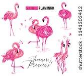 Flamingo Fashion Princess Love...