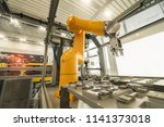 robotic and automation system... | Shutterstock . vector #1141373018