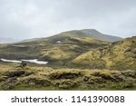 landmannalaugar area shaped by...   Shutterstock . vector #1141390088
