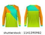 design for sublimation print.... | Shutterstock .eps vector #1141390982
