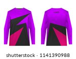 design for sublimation print.... | Shutterstock .eps vector #1141390988