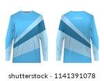 design for sublimation print.... | Shutterstock .eps vector #1141391078