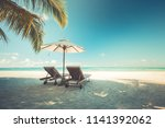 summer holiday and vacation... | Shutterstock . vector #1141392062