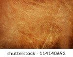 natural brown leather texture...   Shutterstock . vector #114140692
