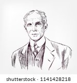 Henry Ford Vector Sketch...