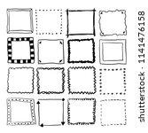 Square Vector Doodle Backgroun...