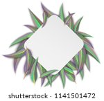 white rhombus background with... | Shutterstock .eps vector #1141501472