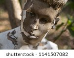 face of aged mannequin | Shutterstock . vector #1141507082