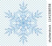 big translucent christmas... | Shutterstock .eps vector #1141508558