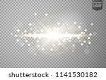 abstract sun shines with lens... | Shutterstock .eps vector #1141530182
