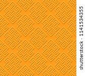 buddhist infinite node  has no...   Shutterstock .eps vector #1141534355