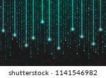 binary background. running... | Shutterstock .eps vector #1141546982