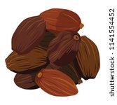illustrations of cardamom.food...   Shutterstock .eps vector #1141554452