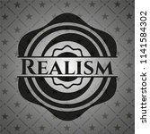 realism black emblem | Shutterstock .eps vector #1141584302