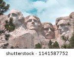 image of beautiful mount... | Shutterstock . vector #1141587752
