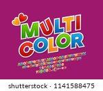 vector multicolor funny...   Shutterstock .eps vector #1141588475