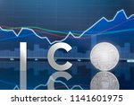 initial coin offering  ico  and ... | Shutterstock . vector #1141601975