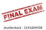 final exam seal print with... | Shutterstock .eps vector #1141604438