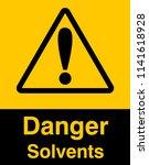 dangrous corrosive substance...   Shutterstock .eps vector #1141618928