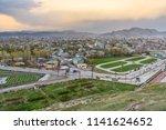 view on van city from castle on ... | Shutterstock . vector #1141624652