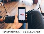chiang mai thailand   july 07 ...   Shutterstock . vector #1141629785
