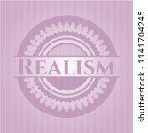 realism pink emblem | Shutterstock .eps vector #1141704245