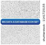big data and database vector... | Shutterstock .eps vector #1141725155