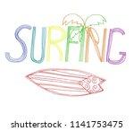 vintage hipsters hand lettering ...   Shutterstock .eps vector #1141753475