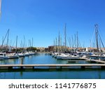 lagos  portugal  july 24th ... | Shutterstock . vector #1141776875